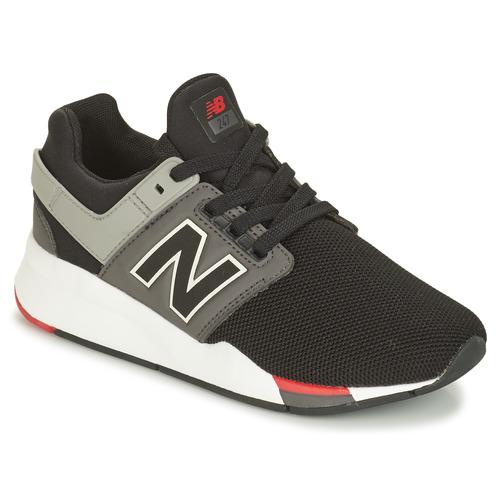 Sapatos Rapaz Sapatilhas New Balance GS247 Preto