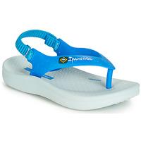 Sapatos Criança Sandálias Ipanema ANATOMIC SOFT BABY Azul / Branco