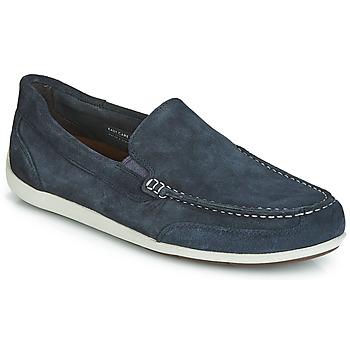 Sapatos Homem Mocassins Rockport BL4 VENETIAN Marinho