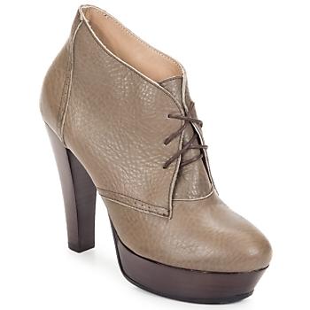 Sapatos Mulher Botas baixas Keyté ETRIOU Toupeira