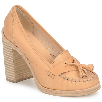 Sapatos Mulher Escarpim Swedish hasbeens TASSEL LOAFER Bege