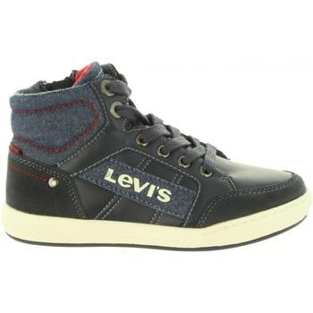 Sapatos Criança Sapatilhas de cano-alto Levi's VCLU0010S MADISON Azul