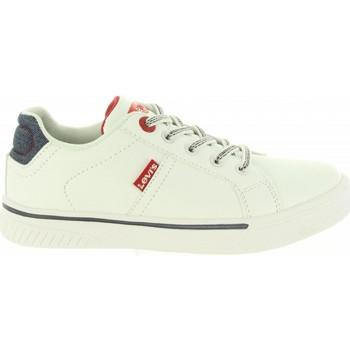 Sapatos Criança Sapatilhas Levi's VFUT0020S OPEN Blanco