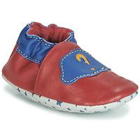 Sapatos Criança Botas baixas André LES BULLES Vermelho