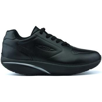 Sapatos Sapatilhas Mbt SAPATOS DE HOMEM DE COURO  1997 BLACK_NAPPA