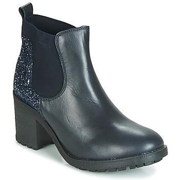 Sapatos Mulher Botas baixas André MARY Azul