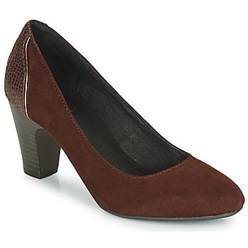 Sapatos Mulher Escarpim André PHILIPINE Bordô