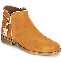 Sapatos Mulher Botas baixas André BILLY Camel
