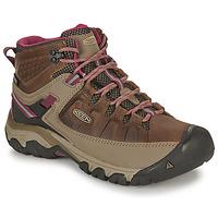 Sapatos Mulher Sapatos de caminhada Keen TARGHEE III MID WP Castanho / Rosa