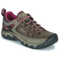 Sapatos Mulher Sapatos de caminhada Keen TARGHEE III WP Castanho / Rosa