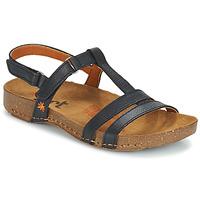 Sapatos Mulher Sandálias Art I BREATHE Preto