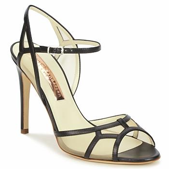 Sapatos Mulher Sandálias Rupert Sanderson TREEN Preto / Bege