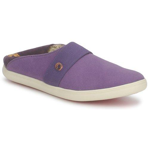 Sapatos Slip on Dragon Sea XIAN TOILE Ameixa