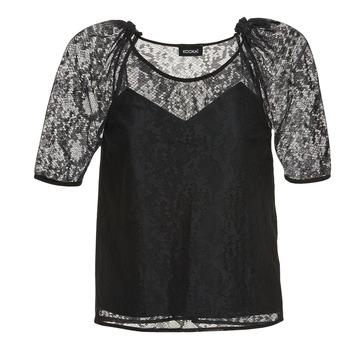 Textil Mulher Tops / Blusas Kookaï BASALOUI Preto