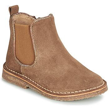 Sapatos Rapariga Botas baixas André ARIA Camel