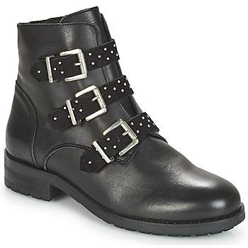 Sapatos Mulher Botas baixas André TITUS Preto