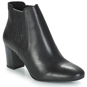 Sapatos Mulher Botas baixas André FONDANT Preto