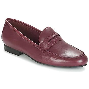Sapatos Mulher Mocassins André TIM Bordô