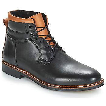 Sapatos Homem Botas baixas André SINTRA Preto
