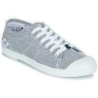 Sapatos Mulher Sapatilhas Le Temps des Cerises BASIC 02 Azul / Branco
