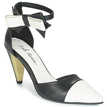 Sapatos Mulher Sandálias Lola Ramona RAMONA Preto / Branco