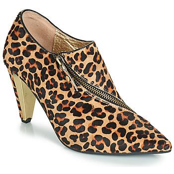 Sapatos Mulher Botins Lola Ramona RAMONA Leopardo