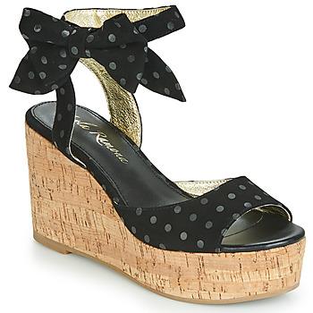 Sapatos Mulher Sandálias Lola Ramona NINA Preto
