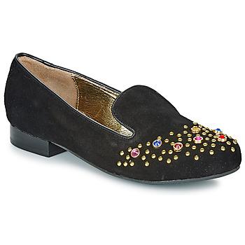 Sapatos Mulher Mocassins Lola Ramona PENNY Preto / Ouro