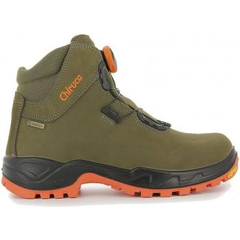 Sapatos Sapatos de caminhada Chiruca Botas  Cares Boa 08 Hi Vi Gore-Tex Verde