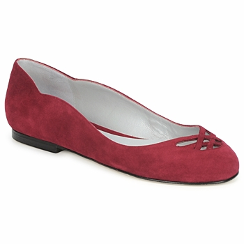 Sapatos Mulher Sabrinas Fred Marzo MOMONE FLAT Bordô