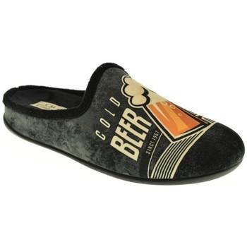 Sapatos Homem Chinelos Calzamur 1251 Negro