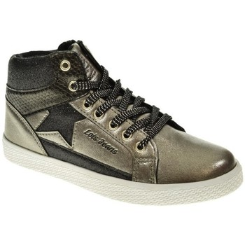 Sapatos Rapariga Sapatilhas de cano-alto Lois 83918 Marrón