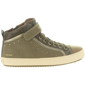 Sapatos Rapariga Sapatilhas de cano-alto Geox J744GI 0AFEW J KALISPERA Beige