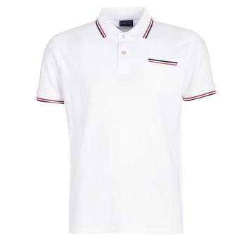 Textil Homem Polos mangas curta Gant COL TIPPING PIQUE Branco