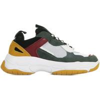 Sapatos Homem Sapatilhas Calvin Klein Jeans Marvin Mesh Lycra Suede Nappa Cinza