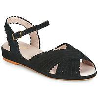 Sapatos Mulher Sandálias Miss L'Fire BRIGITTE Preto