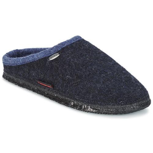 Sapatos Homem Chinelos Giesswein DANNHEIM Marinho