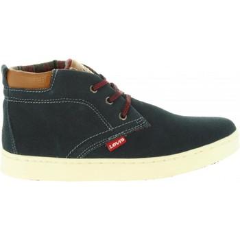 Sapatos Criança Sapatilhas de cano-alto Levi's VCAM0002L CAMBRIDGE Azul