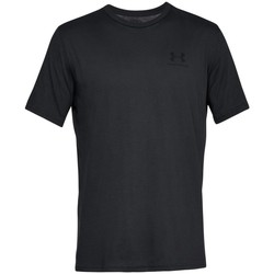 Textil Homem T-Shirt mangas curtas Under Armour Sportstyle Left Chest Preto