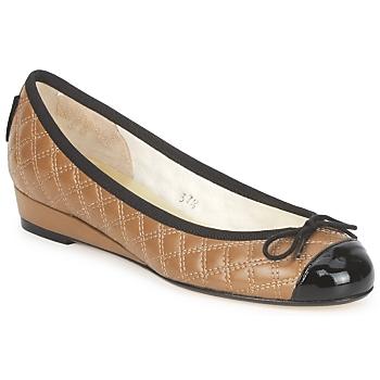 Sapatos Mulher Sabrinas French Sole HENRIETTA Toupeira