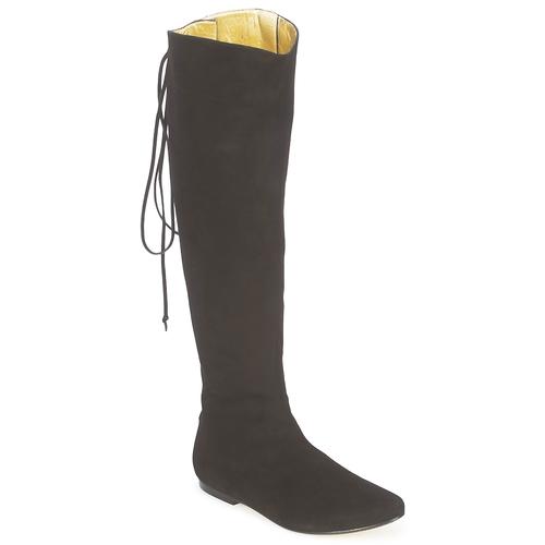 Sapatos Mulher Botas French Sole PRINCE Preto