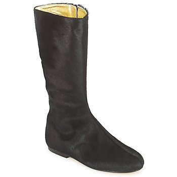 Sapatos Mulher Botas French Sole PATCH Preto
