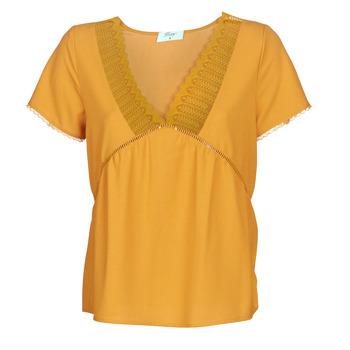 Textil Mulher Tops / Blusas Betty London JOCKY Amarelo