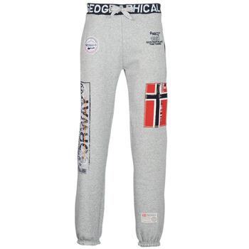 Textil Homem Calças de treino Geographical Norway MYER Cinza