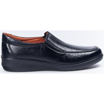 Sapatos Mulher Mocassins Luisetti Zapatos Profesional  0302 Negro Preto