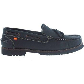 Sapatos Mulher Sapato de vela La Valenciana Zapatos Apache  Montijo Azul Azul