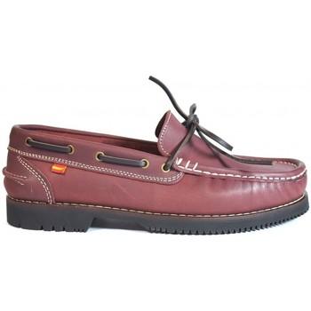 Sapatos Mulher Sapato de vela La Valenciana Zapatos Apache  Olivenza Burdeos Vermelho