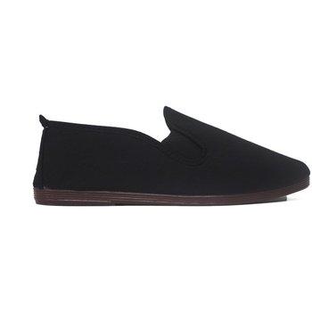 Sapatos Mulher Chinelos Javer Zapatillas Kunfú  55 Negro Preto