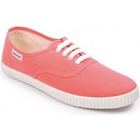 Sapatos Mulher Sapatilhas Javer Zapatillas  60 Coral Laranja