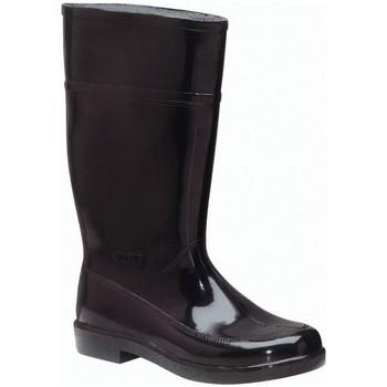 Sapatos Mulher Botas de borracha Anibal BOTAS DE AGUA P'AGUA CHARQUERA ALTA NEGRA 8018 Noir